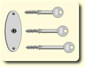 Kreuzbartschlüssel